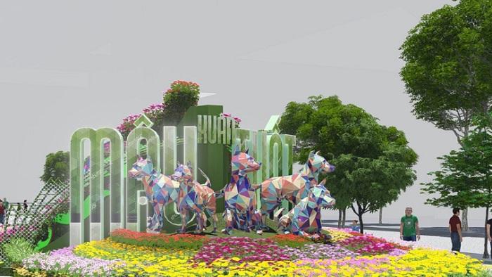 Duong Hoa Nguyen Hue 2018