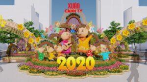 Đường Hoa Nguyễn Huệ 2020 trong sắc xuân Canh Tý