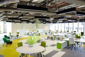 Các kiểu mô hình văn phòng hiện đại phổ biến hiện nay